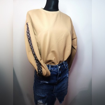 Bluza z motywem Louis Vuitton