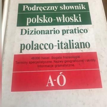 Podręczny słownik polsko włoski 2 tomy
