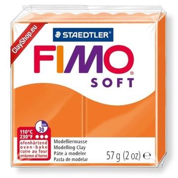 FIMO soft - mandarynka