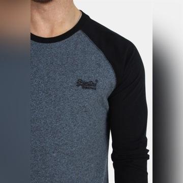 Long Sleeve SuperDry Baseball L/S Tee XL koszulka