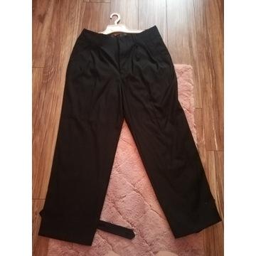 Spodnie wysoki stan szerokie nogawki