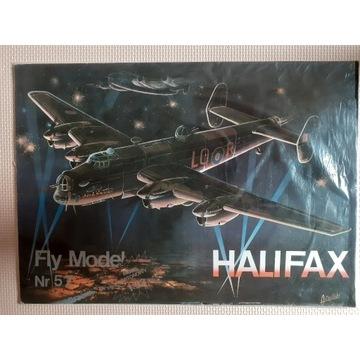 """Fly Model Handley Page """"Halifax""""+ oszklenie kabiny"""