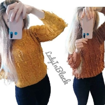 Extra Wygodny Sweterek Kolory Super CENA