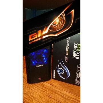 i3 GTX970 G1 Gigabyte Komputer PC do GIER FORTNITE