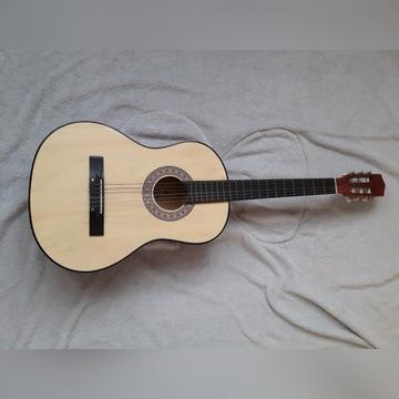 Gitara klasyczna+ pokrowiec+ 3 dodatkowe struny