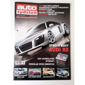 Magazyn Auto Tydzień nr 46 Listopad 2006 Audi R8