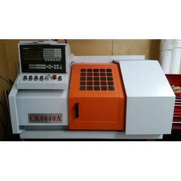 Tokarka CNC CK0640A praktycznie nowa