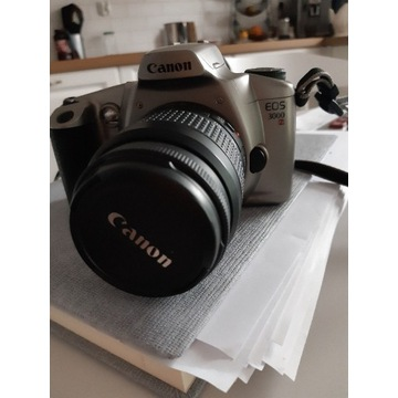 Canon EOS 3000N lustrzanka body+obiektyw 35-80