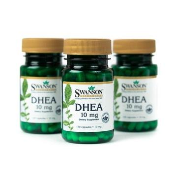 DHEA 10mg SWANSON Tabletki 120 kaps