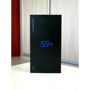 Samsung Galaxy s9+ plus DUOS 64gb Midnight Black