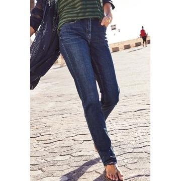 NEXT spodnie jeansowe RURKI Skinny Relaxed 38 Eur