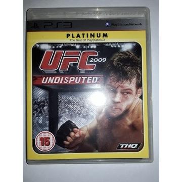 UFC 2009 Undisputed Platinium PS3
