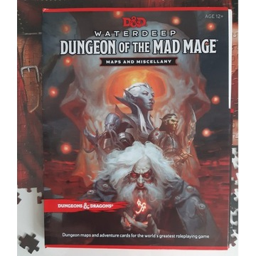 D&D Waterdeep Dungeon of the Mad Mage Maps