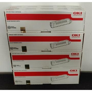 Oki Toner C810/C830 44059105 106 107 108 Oryginały