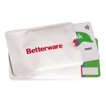 Etui zabezpieczające karty bankowe 9 x 6,5 cm