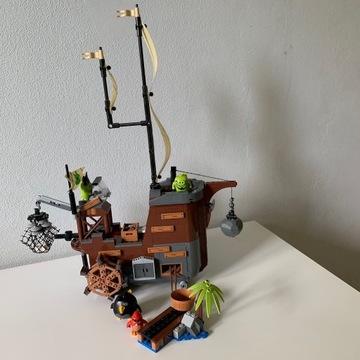 Lego 75825 Angry Birds Statek piracki świnek