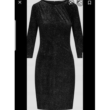 Sukienka Brokatowa srebrna Orsay S