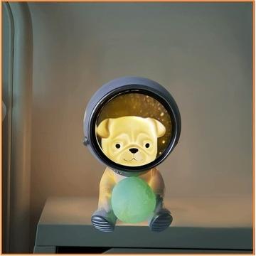 Pies Astronauta Lampka Dziecięca HIT