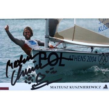 MATEUSZ KUSZNIEREWICZ autograf