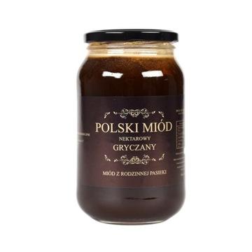 Polski miód gryczany 1,25 kg świeży zbiór 2021!