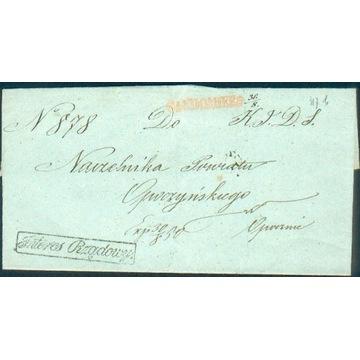 Królestwo Polskie - Sandomierz - 1850 r. - Interes