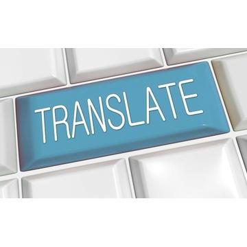 Tłumaczenia z angielskiego na chiński