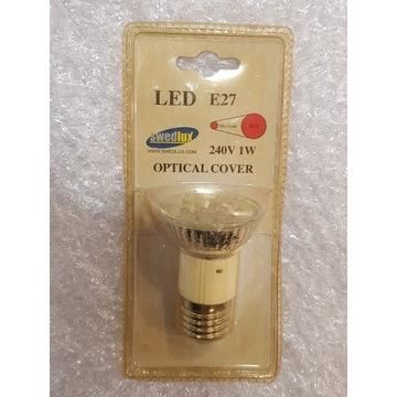 Żarówka LED Kolorowa Swedlux E27 1W Czerwona
