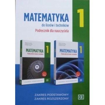 Matematyka 1 Podręcznik dla nauczyciela Oficyna