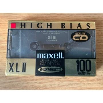 Kaseta Maxell XLII 100 - NOS, folia