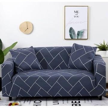 NOWY Pokrowiec na sofę łóżko kanapę | Narzuta