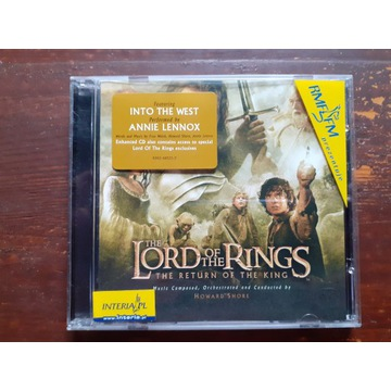 Lord of the Rings Return of the King soundtrack CD