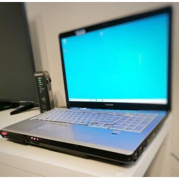 Laptop Toshiba x 205 17 cali 500gb Nowa klawiat