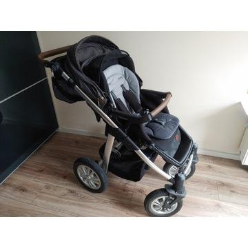 Wózek Baby Design Dotty + fotelik nosidełko Cybex