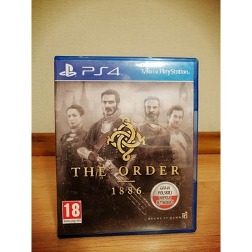 THE ORDER 1886 PS4 PL