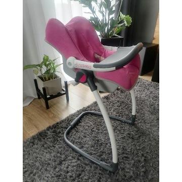 Krzesełko., nosidełko, huśtawka dla lalki smoby