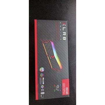 RAM 8GB  PNY XLR8  EPIC-X RGB 3200 MHz