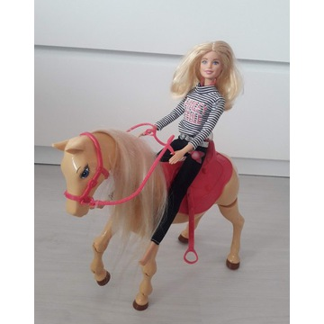 Koń i Barbie
