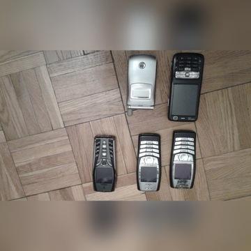 Stare telefony Nokia, Inne na części, uszkodzone