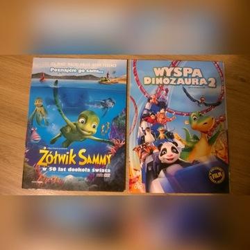 bajki DVD Kumba, Na fali, Renifer Niko, itd