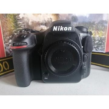 Lustrzanka Nikon D500 korpus