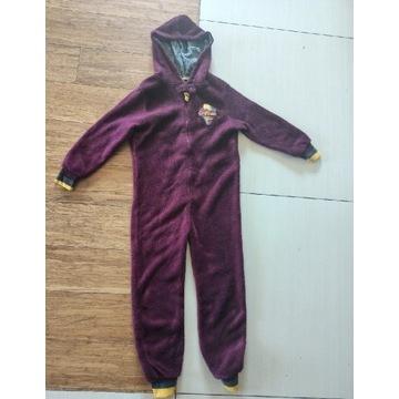 Harry Potter pajac piżama polarowa 128-134