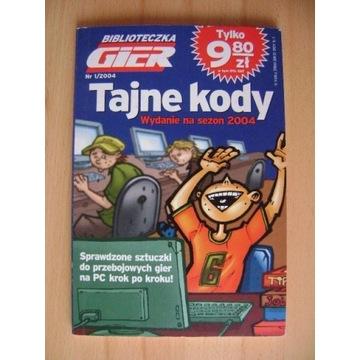 Książka Tajne Kody, nr 1 z roku 2004