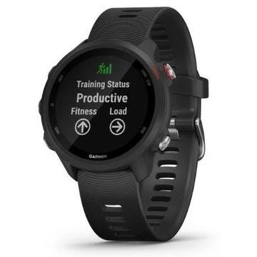 Smartwatch Garmin Forerunner 245 Music czarny nowy