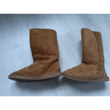 Ciepłe buty damskie jak Emu kozaki r. 39