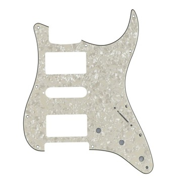 Nowy Pickguard FD Stratocaster Aged Pearl HSH