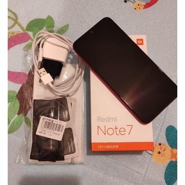 Xiaomi Redmi Note 7 6/64 6gb 64 różowy nebula red