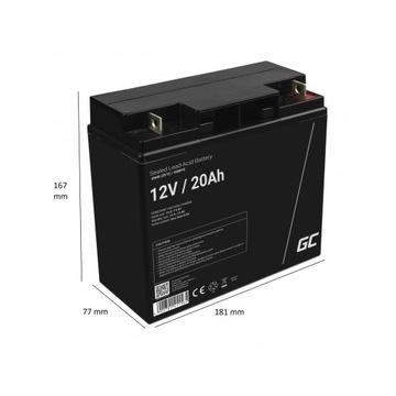 Akumulator AGM 12V 20Ah GC