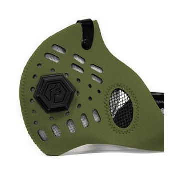 Maska Dragon Sport II Army Green ( L ) + 2 filtry