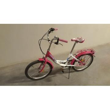Rower ARKUS Julka w kolorze różowo - białym