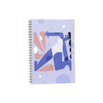 Notes zeszyt notatnik Joga A5/50 gładki